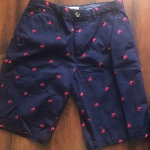 Merona shorts crab embroidered